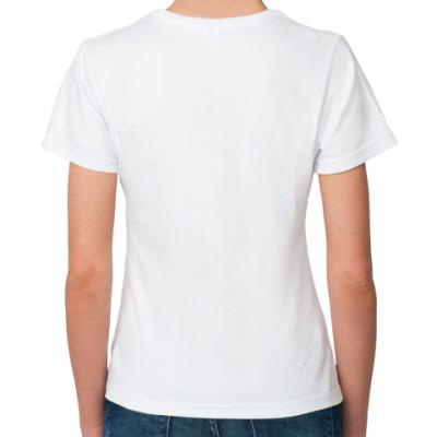 футболка девушка