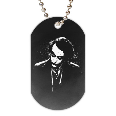 Жетон dog-tag Joker