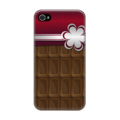 Чехол для iPhone 4/4s шоколадка