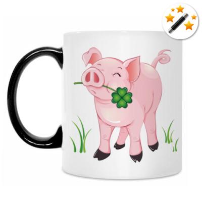 Кружка-хамелеон Pretty Pig