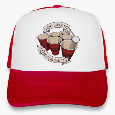 Кепка-тракер Beer Pong