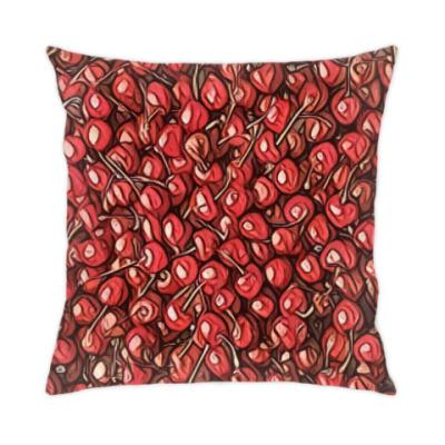 Подушка вишня
