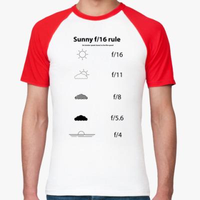 Футболка реглан  Sunny f/16 rule