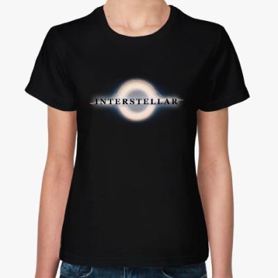 Женская футболка Interstellar