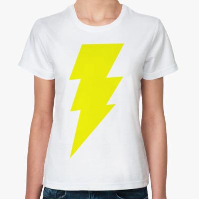 Классическая футболка  Шелдона 'Shazam'