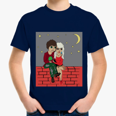 Детская футболка Любовь