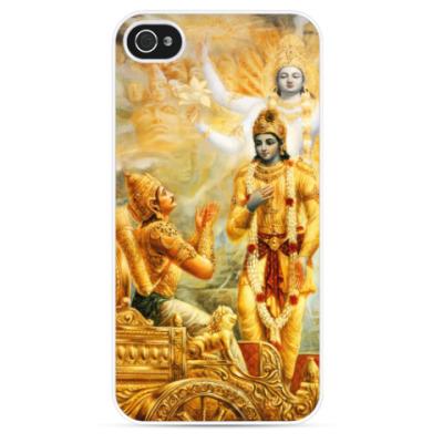 Чехол для iPhone Кришна - Вселенская форма