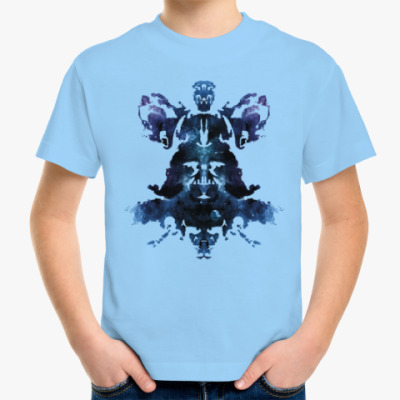 Детская футболка Rorschach Darth Vader