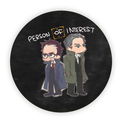 Костер (подставка под кружку) Person of Interest