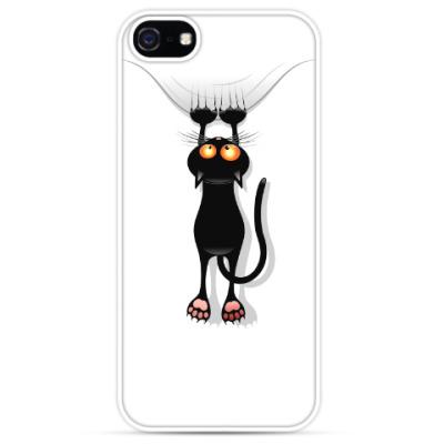 Чехол для iPhone Черная кошка