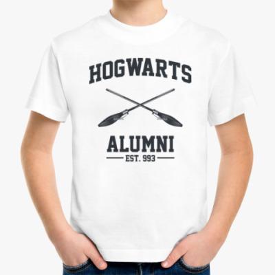 Детская футболка Hogwarts Alumni