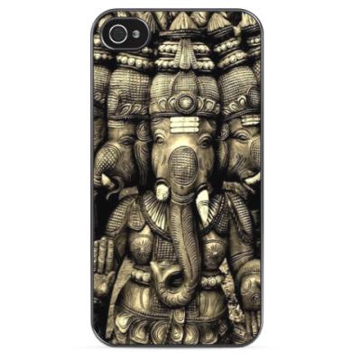 Чехол для iPhone Индийские слоны