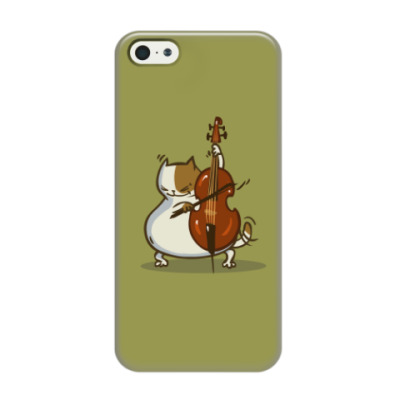 Чехол для iPhone 5/5s Пятничный Котик №24