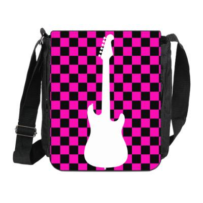 Сумка на плечо (мини-планшет) Emo Guitar