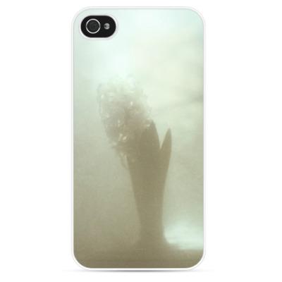 Чехол для iPhone Белый гиацинт