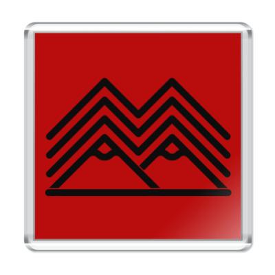Магнит Символ Твин Пикс Twin Peaks
