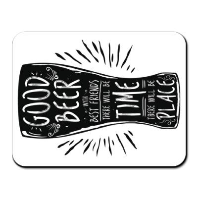 Коврик для мыши Весёлая кружка (funny mug)