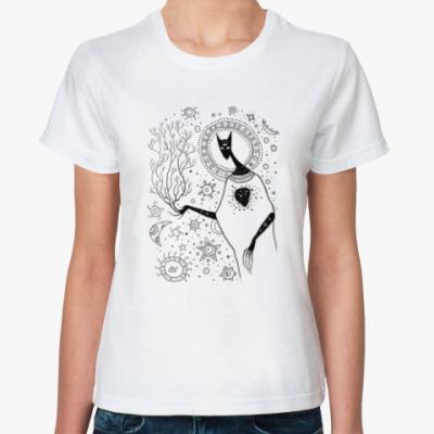 Классическая футболка Росток мирового дерева