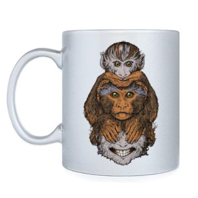 Кружка Три обезьяны символ года