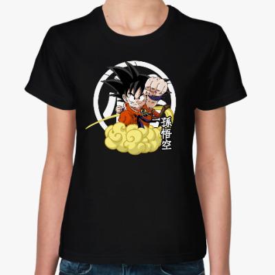 Женская футболка Драконий жемчуг