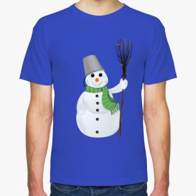 Футболка Снеговик