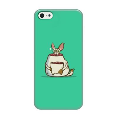 Чехол для iPhone 5/5s Некот — Пятничный Котик №49