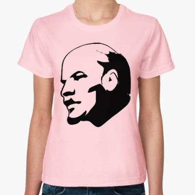 Женская футболка В.И. Ленин