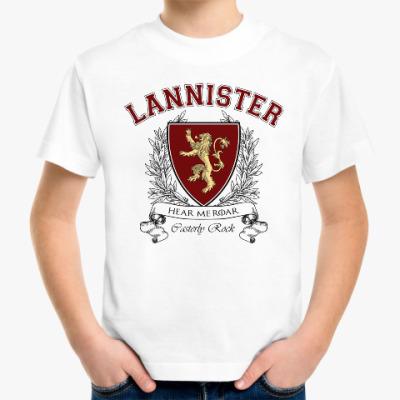 Детская футболка House Lannister