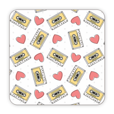Audio Cassette and Hearts