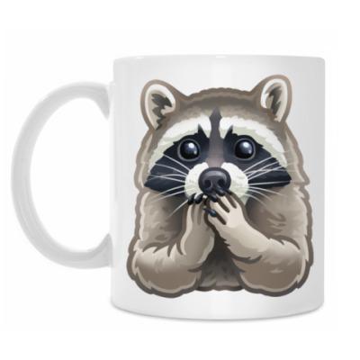 Кружка Cute Raccoon