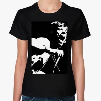 Женская футболка Мик Джаггер