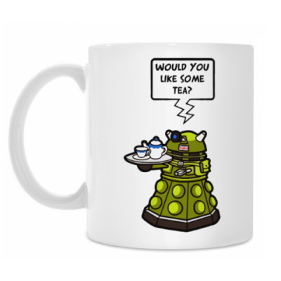 Кружка Далек WOULD YOU LIKE SOME TEA?