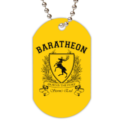 Жетон dog-tag House Baratheon