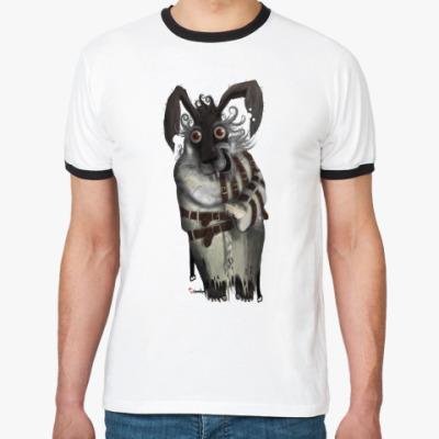 Футболка Ringer-T  'March rabbit'