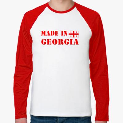 Футболка реглан с длинным рукавом Made in Georgia