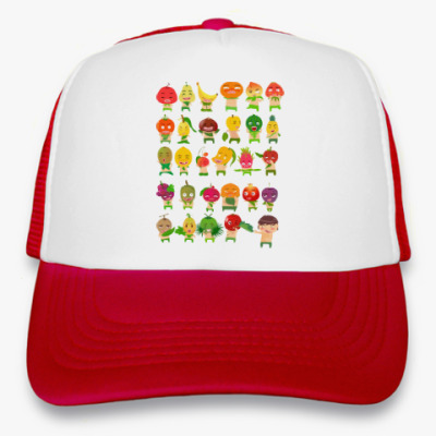 Кепка-тракер Фрукты, Овощи и Ягоды