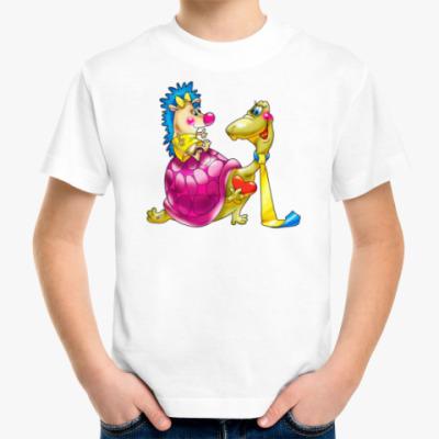 Детская футболка ЧЕРЕПАХА ИЁЖИК