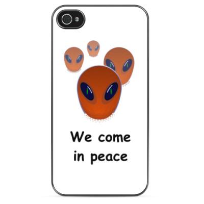 Чехол для iPhone Марс атакует