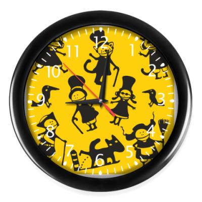 Часы 'Желтый стимпанк'