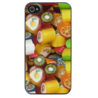 Чехол для iPhone Фруктовые конфеты