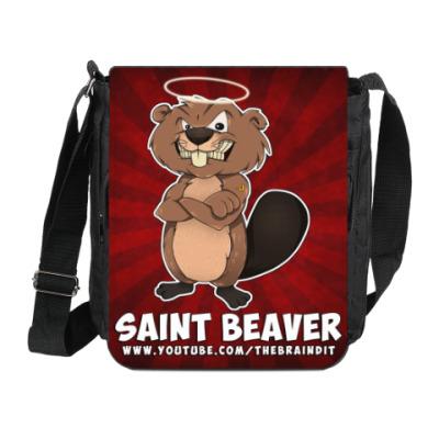 """Сумка на плечо (мини-планшет) Сумка на плечо """"St. Beaver"""""""