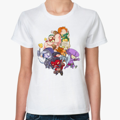 Классическая футболка Dota 2