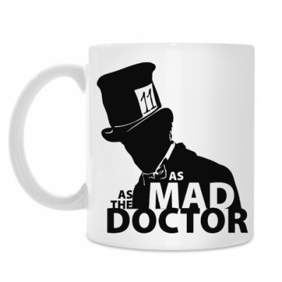 Кружка As mad as the Doctor