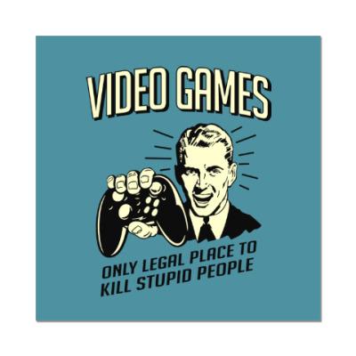 Наклейка (стикер) Video Games