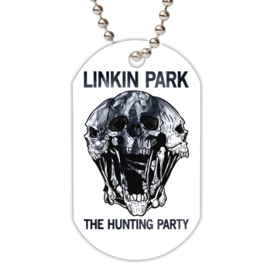 Жетон dog-tag Linkin Park The Hunting Party