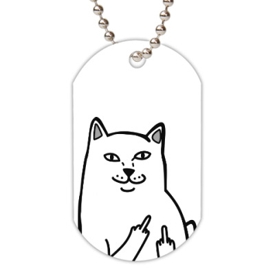 Жетон dog-tag KittyFingers