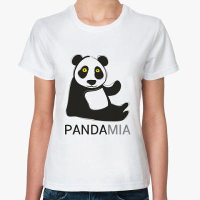 Классическая футболка 'Панда'