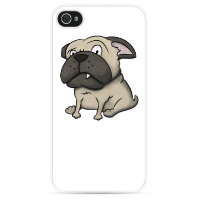 Чехол для iPhone grumpy dog