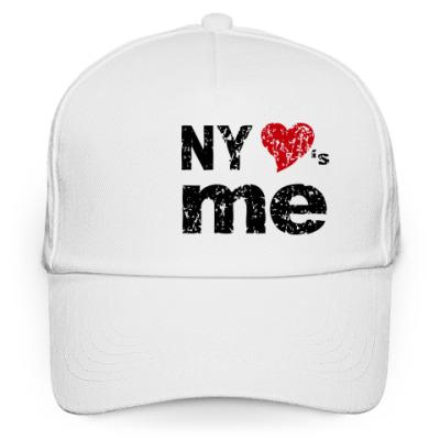 Кепка бейсболка NY Loves Me