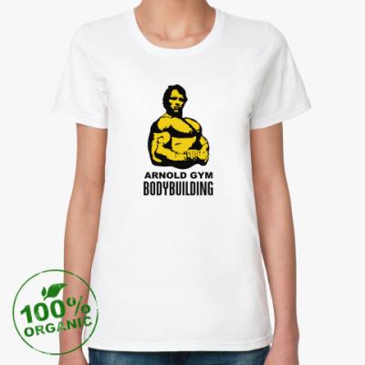 Женская футболка из органик-хлопка Arnold - Bodybuilding